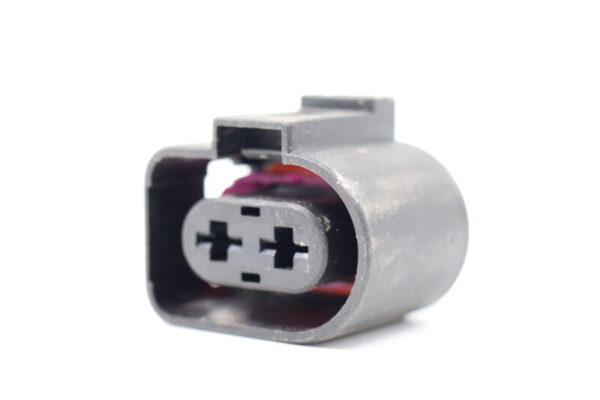 2 Poliges Steckergehäuse 4.8 mm weiblich