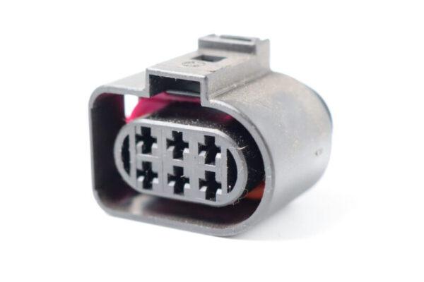6 Poliges Steckergehäuse 2.8mm weiblich
