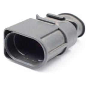 2 Poliges Steckergehäuse 4.8 mm männlich