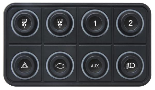 EMU CAN BUS KEYBOARDS - 8 Buttons / Tasten