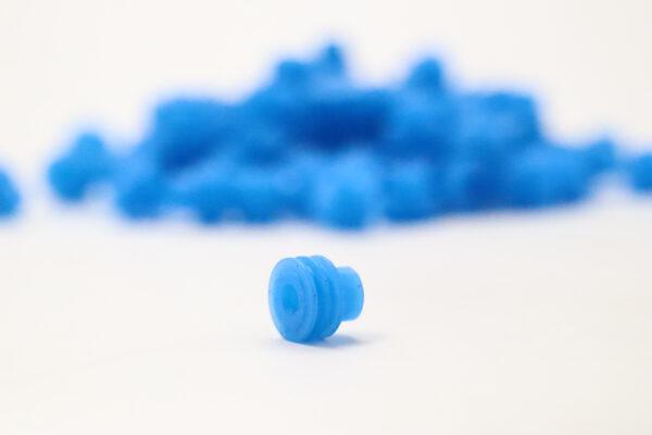 Blaue Einzeladerdichtung 4.00 bis 2.50 mm2
