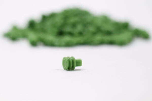 Grüner Blindstopfen