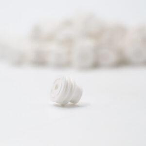 Weiße Einzeladerdichtung 1.0 bis 0.5 mm2
